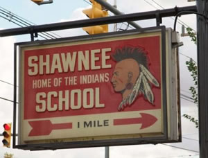 Shawnee Local Schools Sign